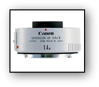 Canon EF 1.4X Extender