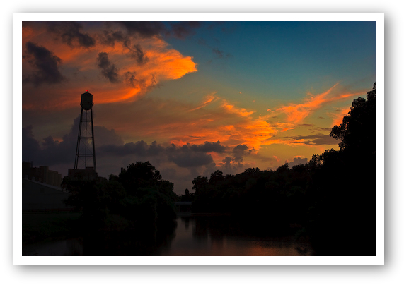 Sunset at the Old Sugar Mill