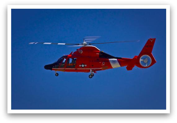 Coast Guard In Flight