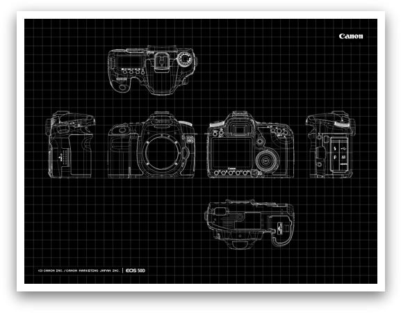 EOS 50D Blueprint