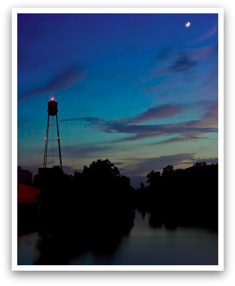 Moonlight on the Old Mill