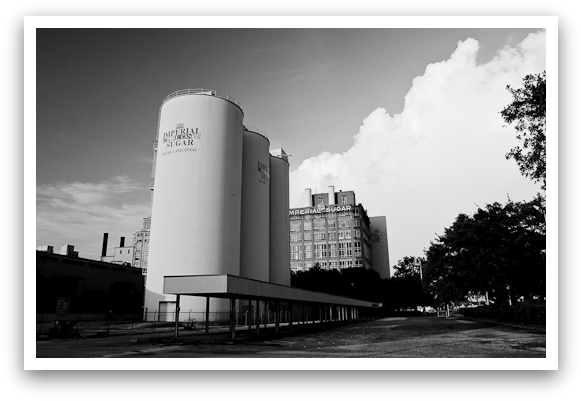 The Old Sugar Mill Grayscale