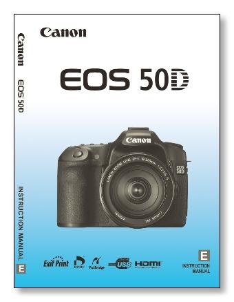EOS 50D Manual