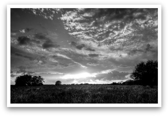Prairie Sunset HDR