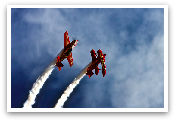 Oracle Sponsored Aerobatics Team