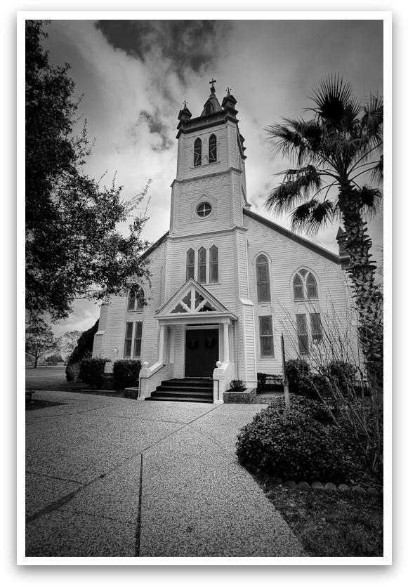 Catholic Church in Wallis, Texas