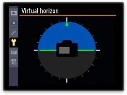 Nikon's Virtual Horizon