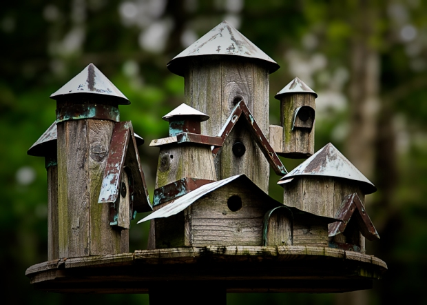 Simple bird house plans pdf download diamond wine rack for Simple houses to build