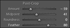Post-Crop Adjustments