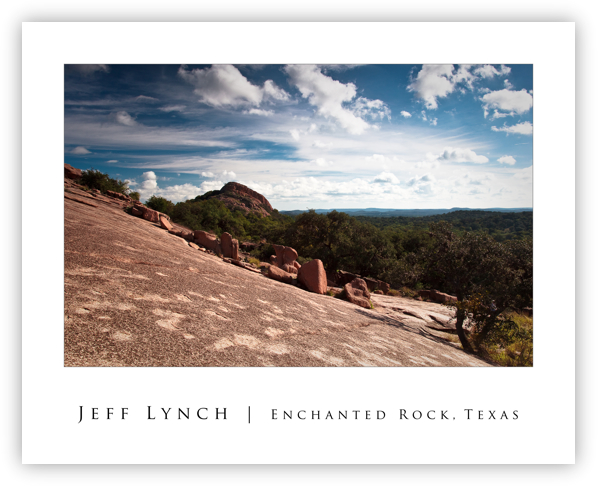 Enchanted Rock, Texas 20 x 16 Poster
