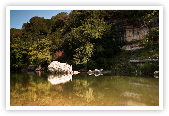 Guadalupe River Reflections