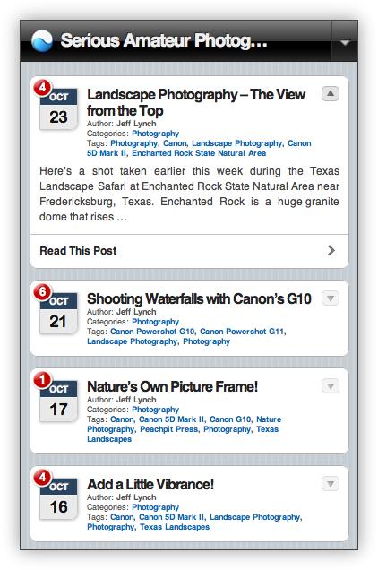 WordPress on the iPhone