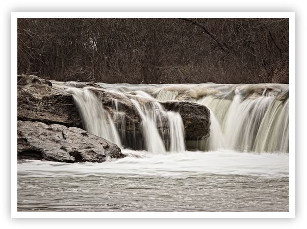 McKinney Falls In Winter