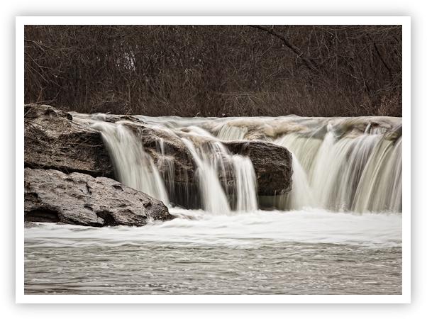 McKinney Falls In Winter