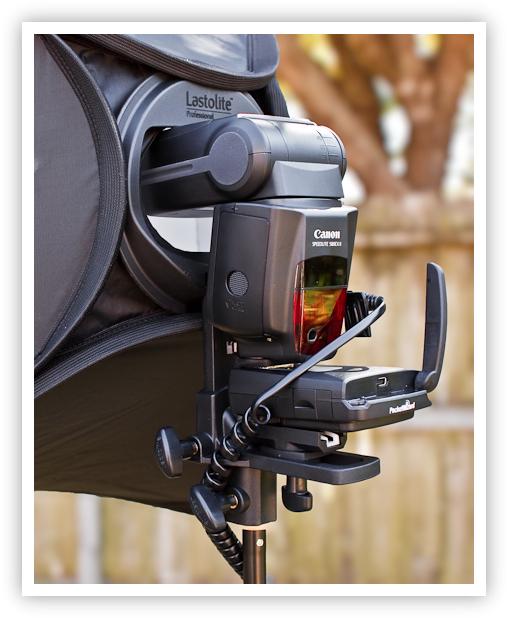 EzyBox HotShoe w/ Canon 580EX & FlexTT5