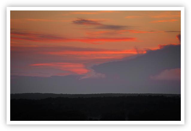 Sunset Over Smithville