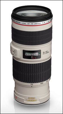 Canon's EF 70-200mm f/4L IS USM Lens