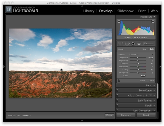 Lightroom 3 Raw Workflow - Local Adjustments