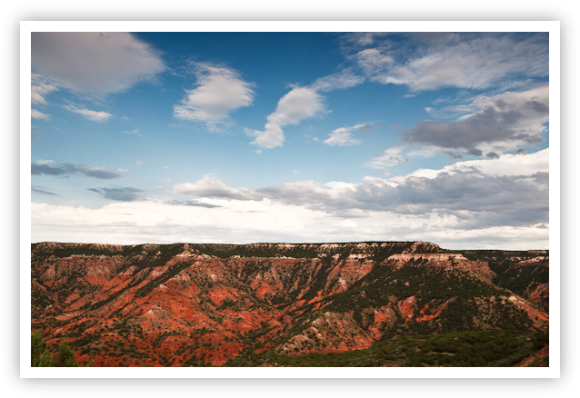 Palo Duro Canyon Evening