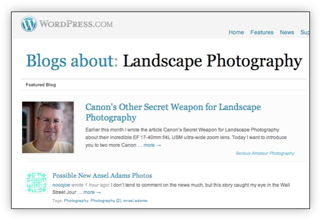 Featured on WordPress.com