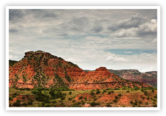 Caprock Canyons Butte