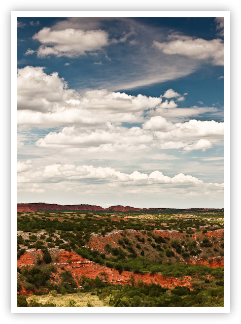 Clouds Over Caprock Canyons