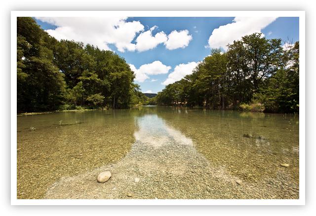 Frio River Stones No Polarizer