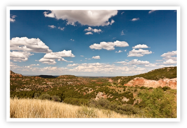 Just North of Caprock Canyons
