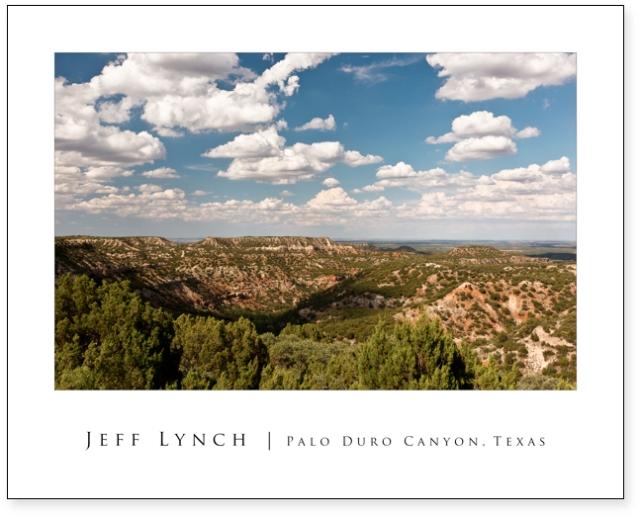 Palo Duro Canyon 20x16 Poster