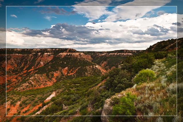 Palo Duro Canyon at Dusk