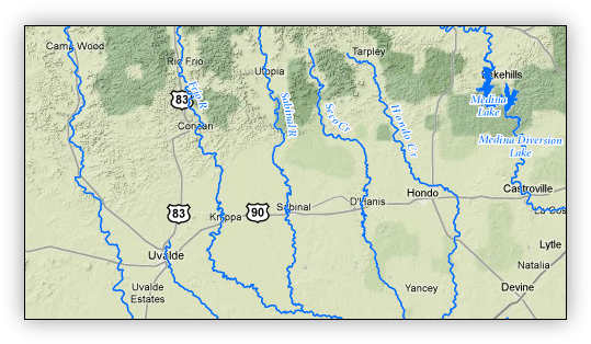 Central Texas Rivers
