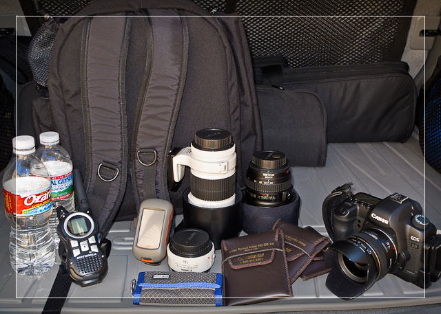 Packing for Landscape Photography