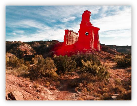 Lighthouse & Castle Peaks - Local Adjustments