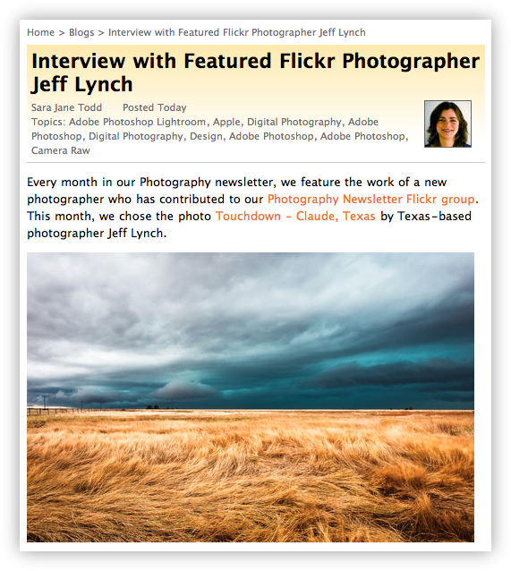 Peachpit Blog Interview