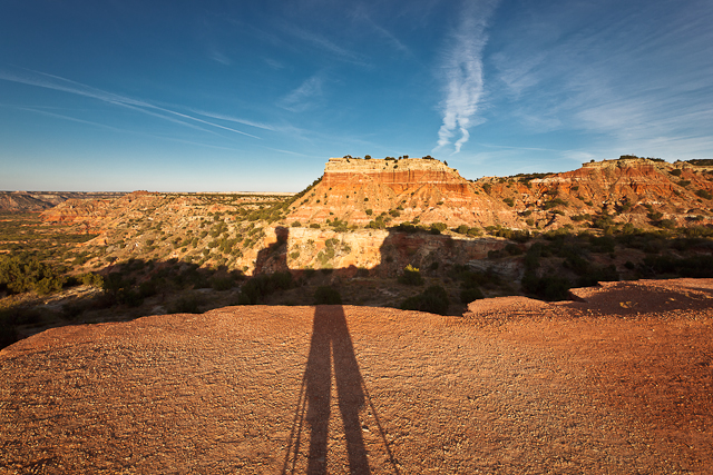 Canyon Self Portrait