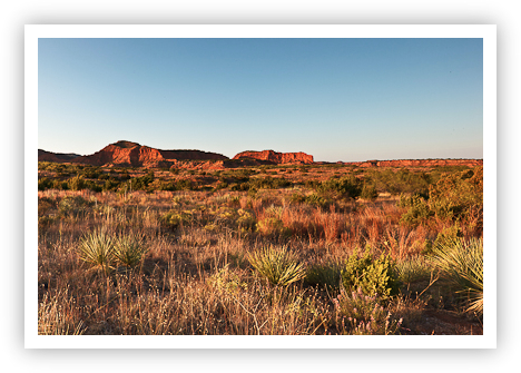 Caprock Canyons (Right Image)