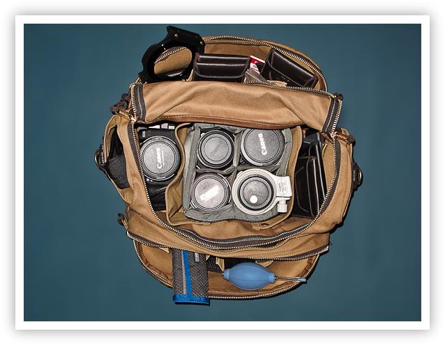 Filson Sportsman's Bag (Open)