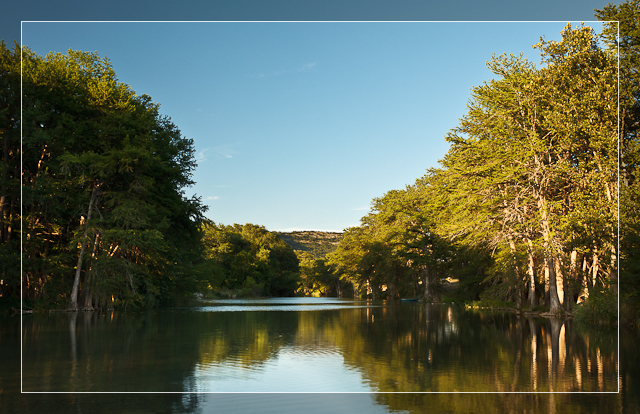 Frio River Sunset