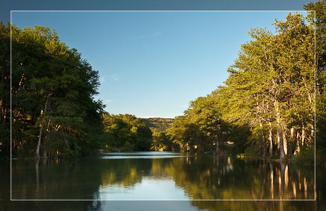 Frio River Sunset