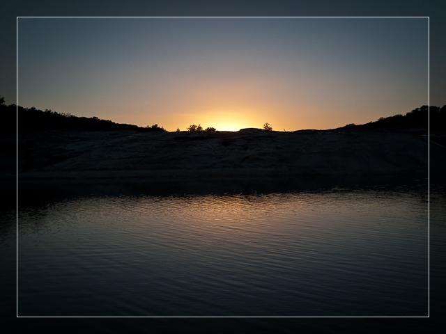 Pedernales Sunset