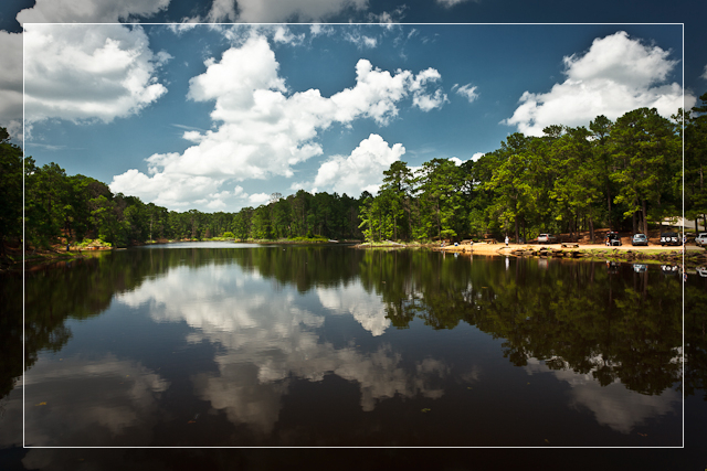 Bastrop State Park Lake