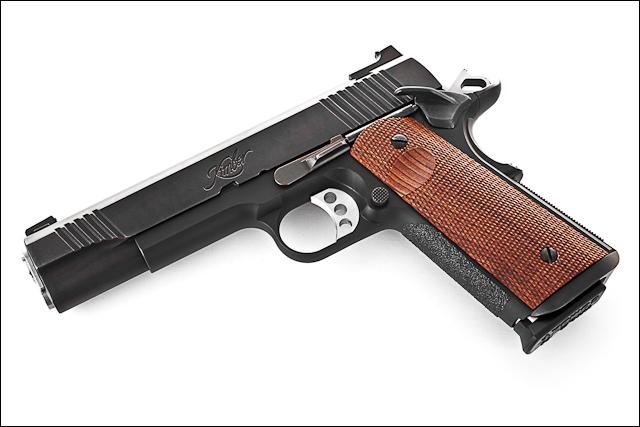 Kimber Competition Gun - Left Angle