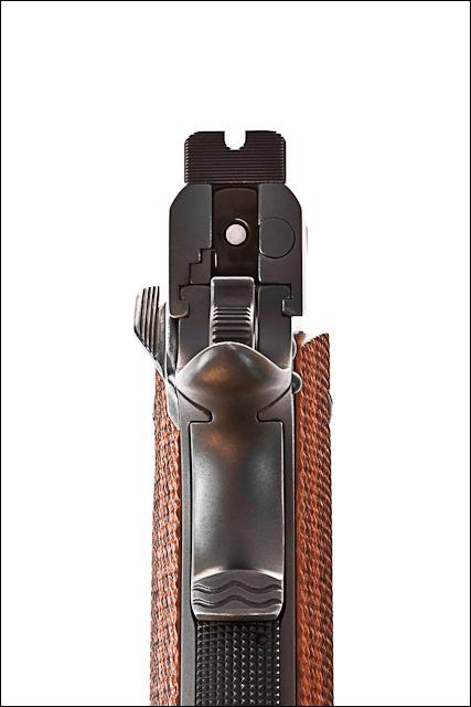 Kimber Competition Gun - Rear