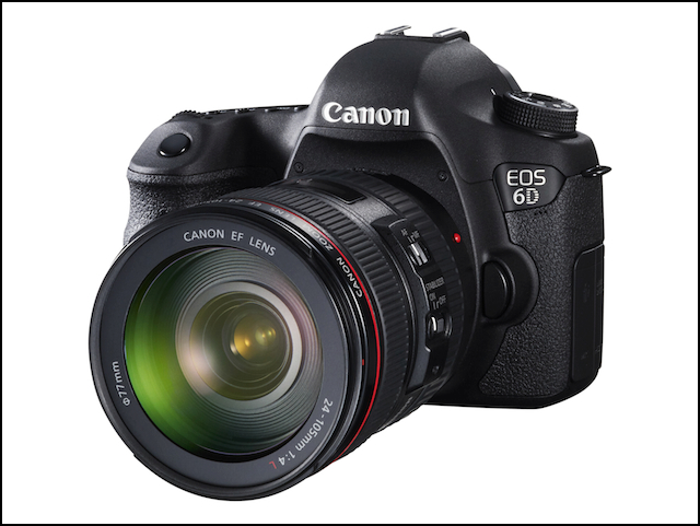 Comparing the Canon 5D Mark II, 5D Mark III and 6D (1/3)