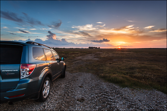 Subaru Forester Sunset