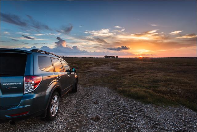 Subaru Forester Sunset