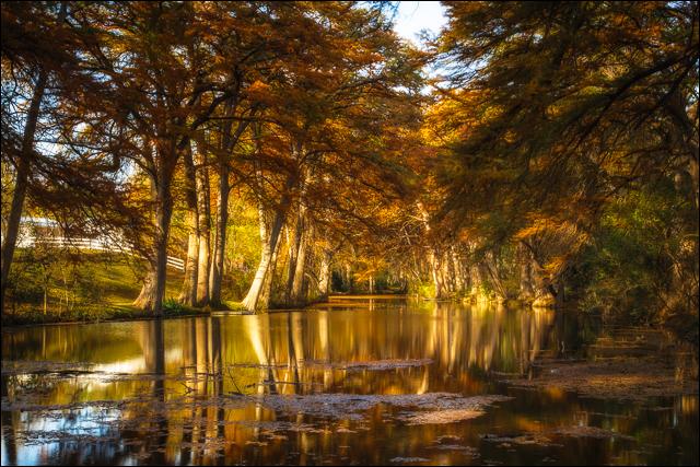 Frio River in Autumn
