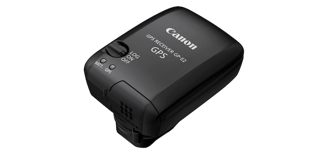 Canon's GP-E2 GPS Unit