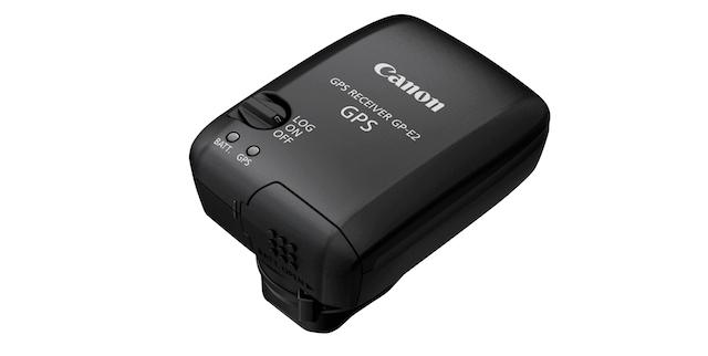 Canon's GP-E2 GPS Unit