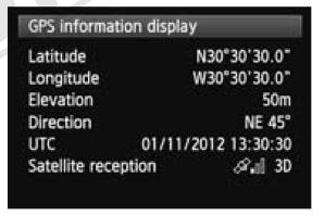 GPS Details